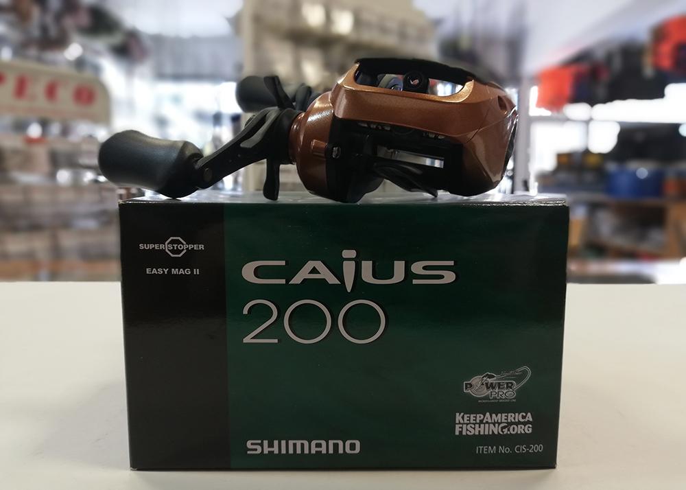 Reel SHIMANO Caius 200
