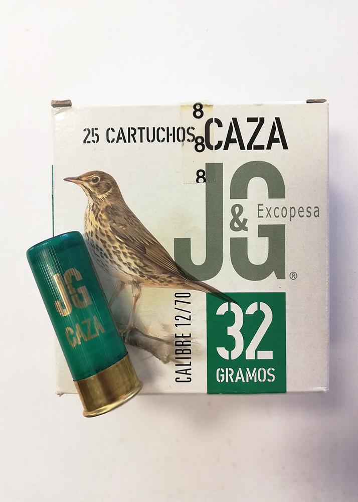 Cartucho J&G Hunting calibre 12